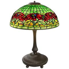 "Tiffany Studios New York ""Poinsettia"" Table Lamp"