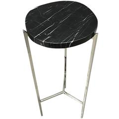 Black and White Marble Top Cocktail Table, China, Contemporary