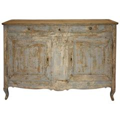 19th Century Louis XV Painted Enfilade
