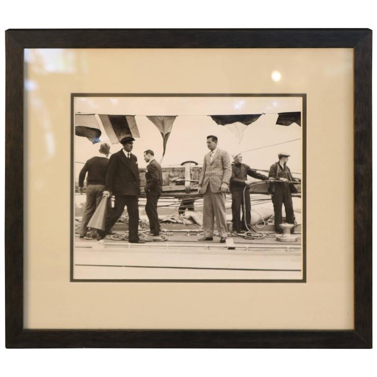 Original Press Photo of Harold Vanderbilt