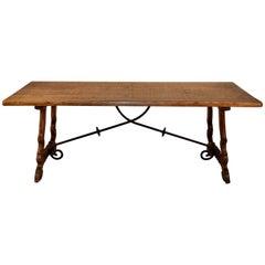 Spanish Oak Table, circa 1910