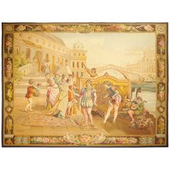 Aubusson 100% Silk Tapestry