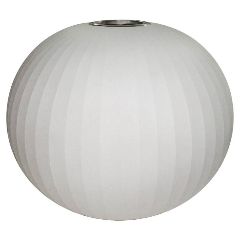 Mid-Century Bubble Lamp by George Nelson For Sale