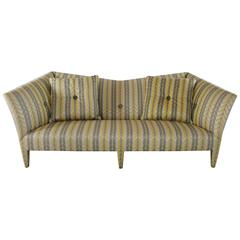 Vintage Donghia Yellow Stripe Spirit Sofa by John Hutton