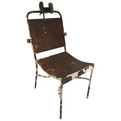 Antique Iron Medical Chair