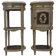 Pair of 19th Century French Louis XVI Nightstands