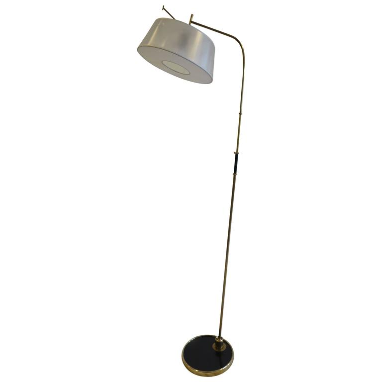 1950 Maison Lunel Articulating Floor Lamp