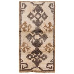 Vintage Tulu Rug with Tribal Design