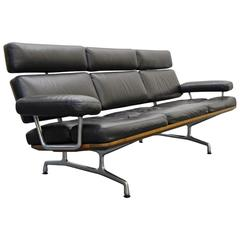 Eames for Herman Miller Three-Seat Soft Pad Sofa