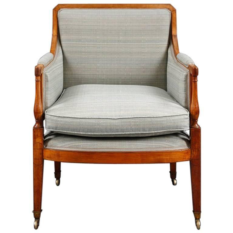George III Satinwood Armchair