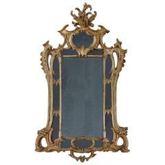 George III Carved Pier Mirror