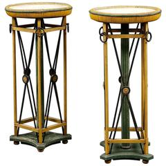 Pair of Early 20th Century French Torcheres