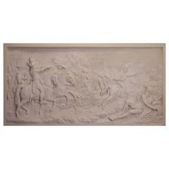 Great Stucco Bas Relief, Simon Louis Boizot, Representing the Battle of Neuwied