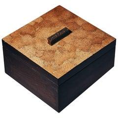Decorative Boxes,ELLA by Reda Amalou Design,2016 -Brown or white Eggshell, Black