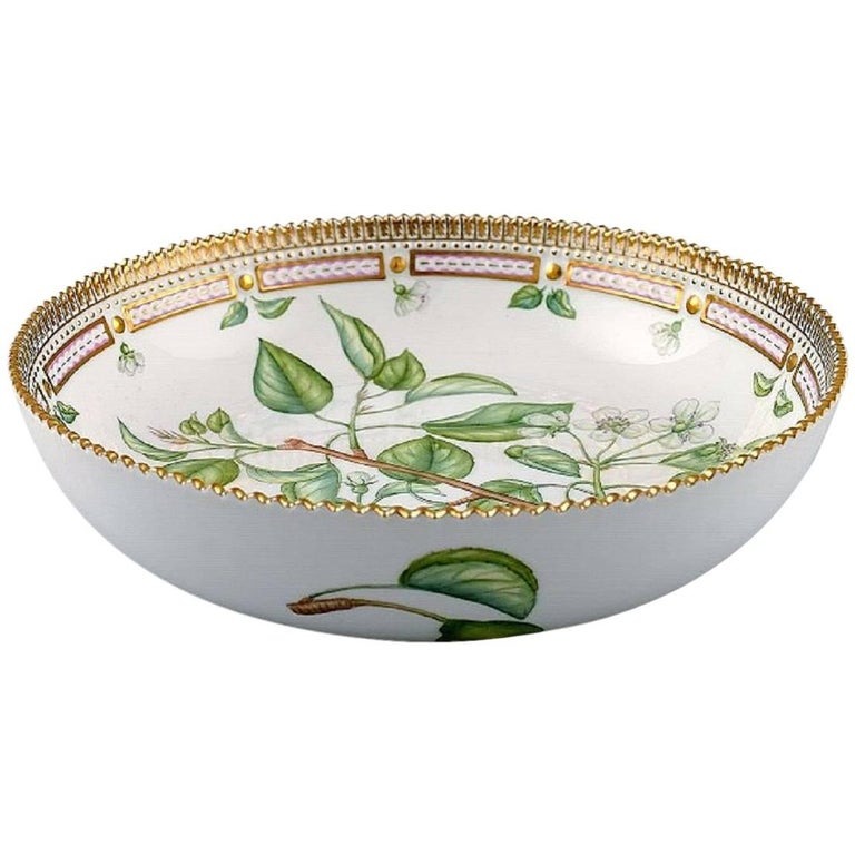 Royal Copenhagen Flora Danica Large Salad Bowl