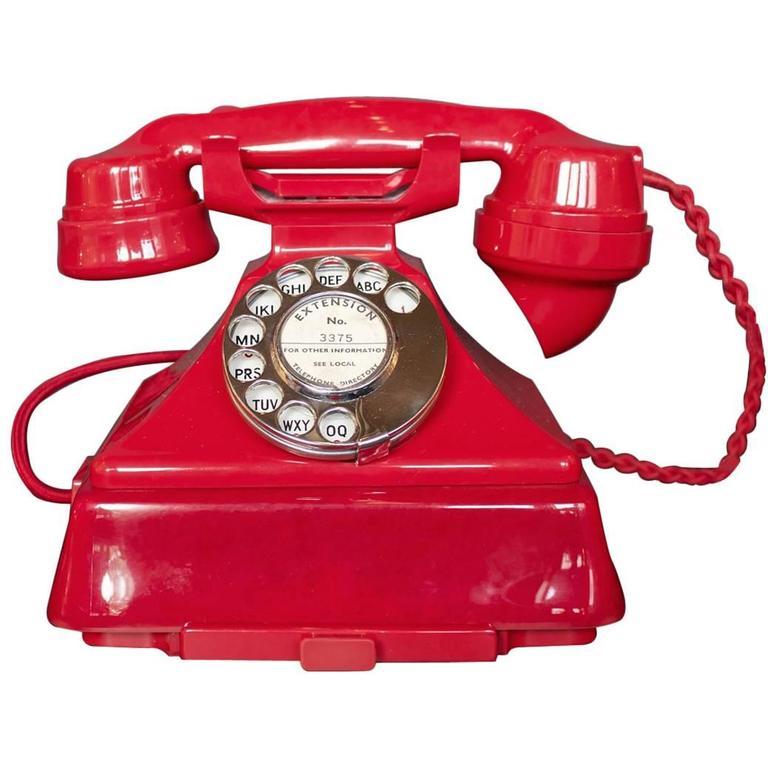 Art Deco Bakelite Telephone