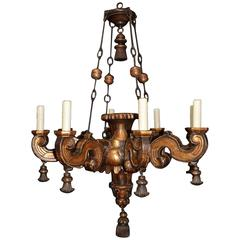 Antique Chandelier, Venetian