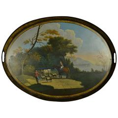 Georgian Gallery Tray