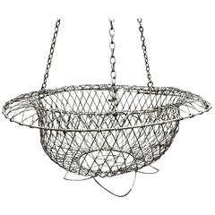 Vintage Wirework Planter Hanging Basket
