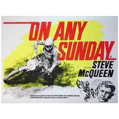 """""""On Any Sunday"""" Film Poster, 1971"""