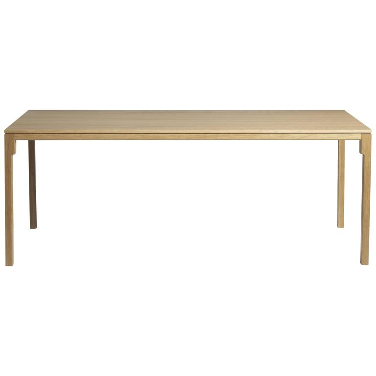 """Mingx Wooden"" Table in Solid Oak Designed by Konstantin Grcic for Driade"