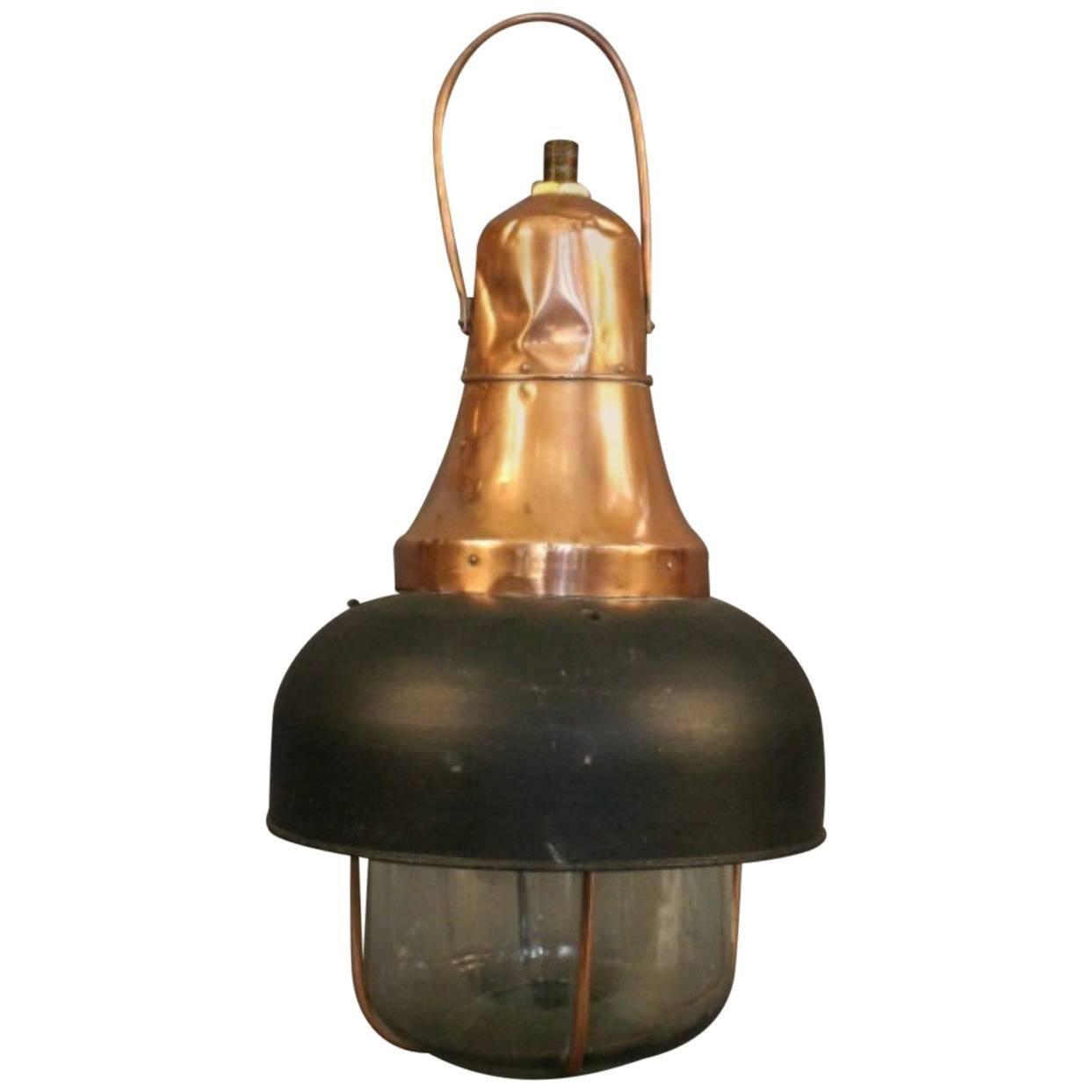 Copper Ship's Cargo Light