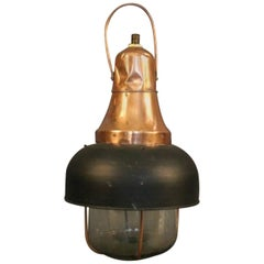 Copper Ship's Cargo Light