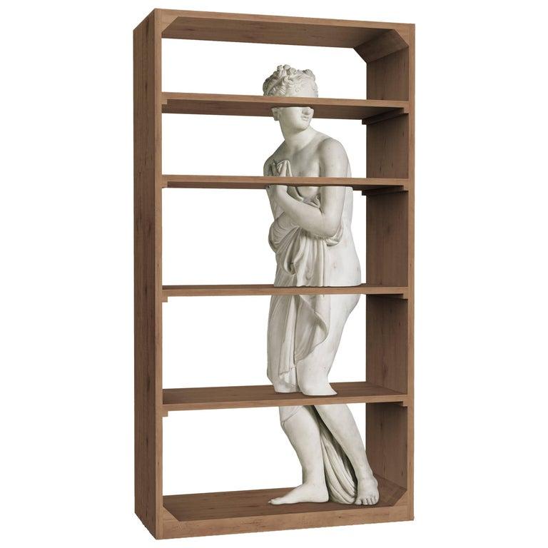 """Fabio Novembre Driade """"Venus"""" Bookcase in Natural Oak, Designed 2017 For Sale"""