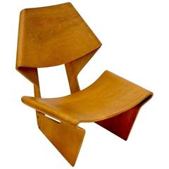 Ultra Rare Laminated Chair by Grete Jalk