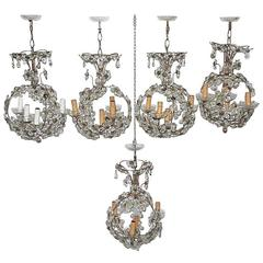 Chic Chandeliers French 1950s Chic Design