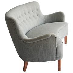 Rare Runda Version of Carl Malmsten's Samsas Sofa