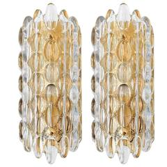 Carl Fagerlund Glass Sconces