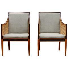 Kaare Klint 'Bergere' Chairs, Model 4488, Made by Rud Rasmussen