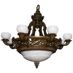 Antique Lighting, antique chandelier