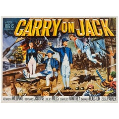 """""""Carry On Jack"""" Film Poster, 1963"""