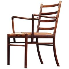 Ole Wanscher Colonial Desk Chair of Rosewood