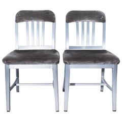 Pair of General Fireproofing Co. Armchairs, Refinished
