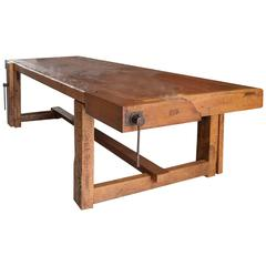 Italian Woodworkers Table