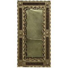 19th Century Syrian Mother of Pearl Inlaid Mirror