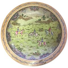 Chinese Hand-Painted Porcelain Charger