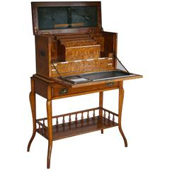 Stunning Late 19th Century Campaign or Travelers Desk Attr to Thomas Potter