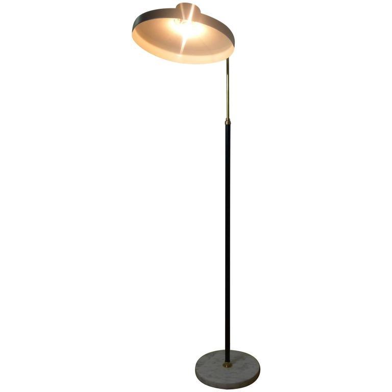 1960s Italian Floor Lamp by Stilnove For Sale