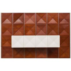 Antoine Philippon / Jacqueline Lecoq Panel Wall with Sideboard