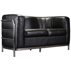 Original Zanotta Onda Leather Sofa or Loveseat by Paolo Lomazzi, 1985