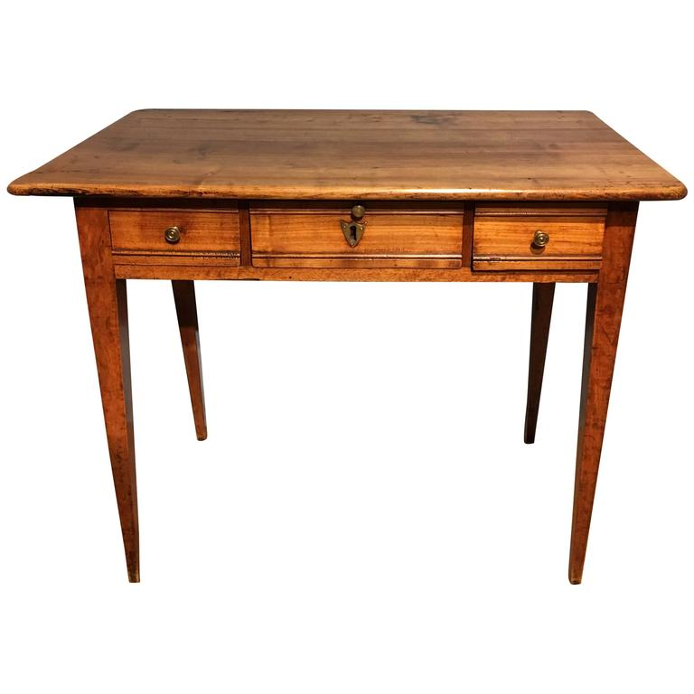 Cherrywood Side Table Lamp Table For Sale At 1stdibs