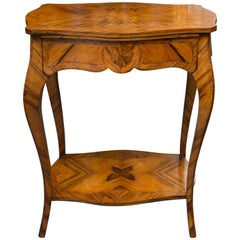 19th Century, Louis XV Style Kingwood Two-Tier Occasional Table