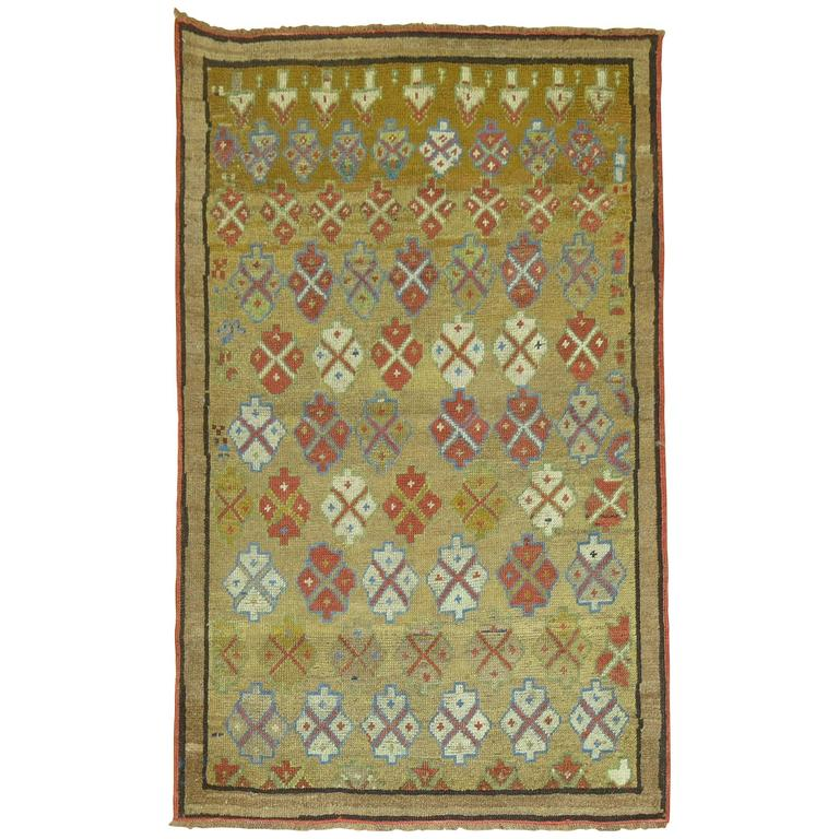 Antique Camel Hair Serab Rug For Sale At 1stdibs