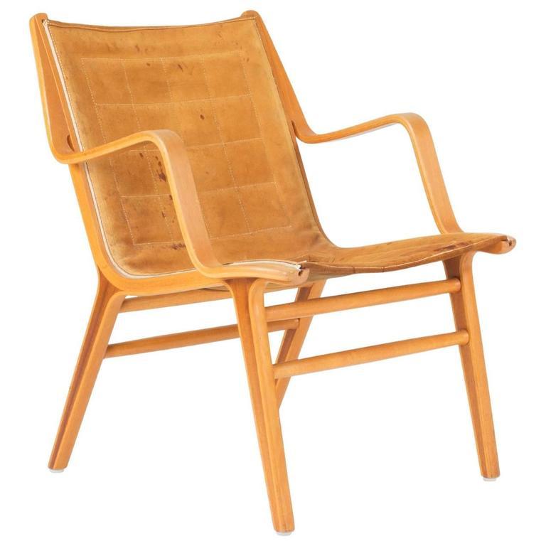 "Bentwood ""Ax"" Armchair by Peter Hvidt & Orla Møllgaard Nielsen"