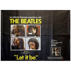"""""""Let It Be"""" Poster, 1970"""