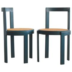 Italian Caned Bentwood Chairs